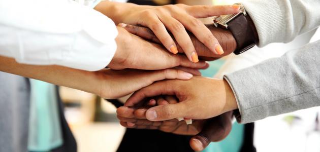 ايات قرانية عن التعاون