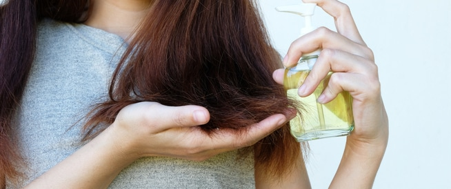 فوائد زيت باراشوت لتطويل الشعر