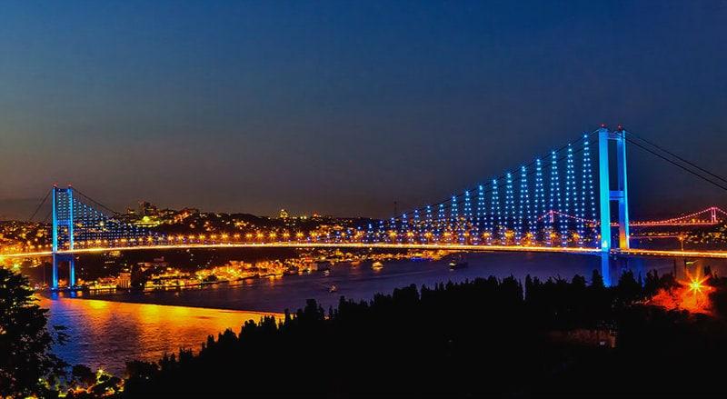 اماكن سياحية في اسطنبول ليلا
