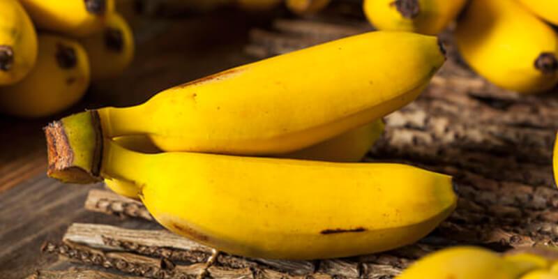 فوائد الموز للشعر الابيض