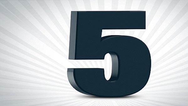 اسرار الرقم 5
