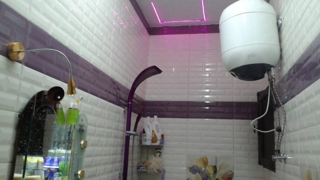 تلميع بلاط الحمام