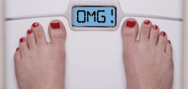 أسباب زيادة الوزن رغم قلة الأكل