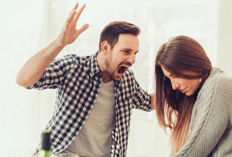 احاديث عن غضب الزوج على زوجته