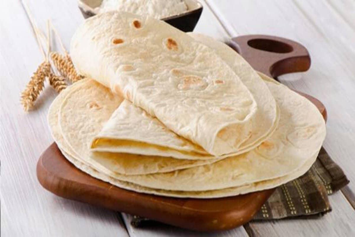 السعرات الحرارية في خبز الصاج الجواب