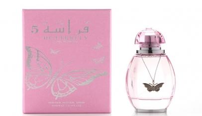 مكونات عطر الفراشة من العربيه للعود