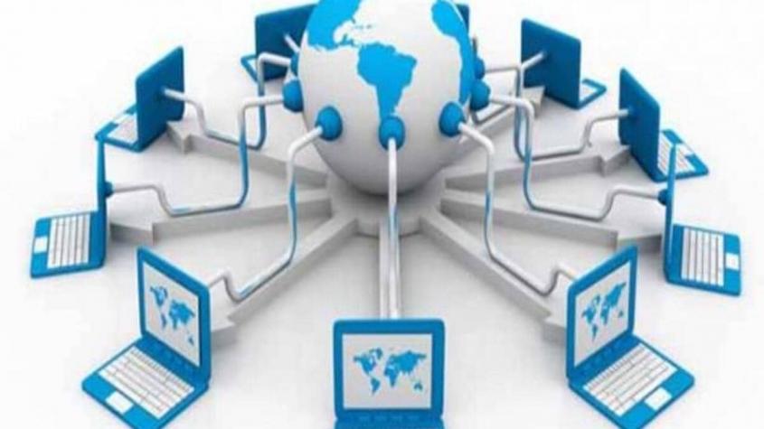 براجراف بالانجليزي عن الانترنت