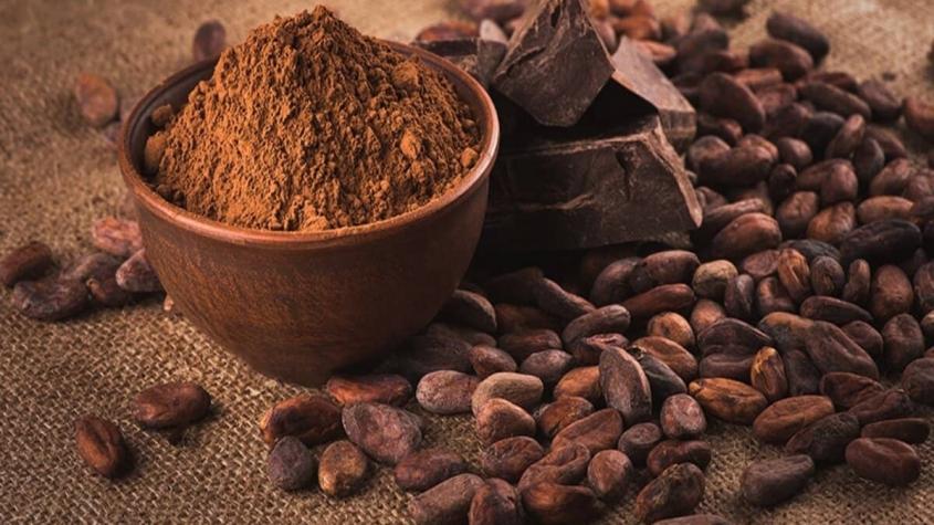 السعرات الحرارية في ملعقة الكاكاو الخام