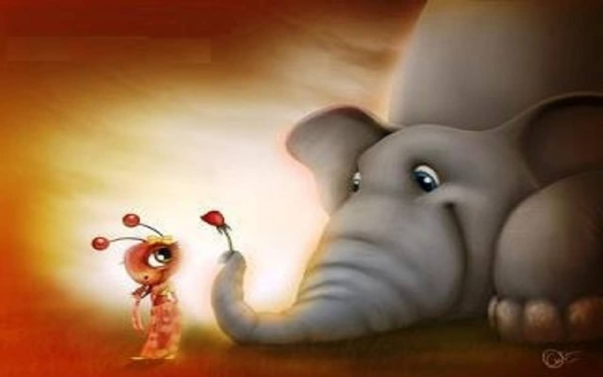 نكت النملة والفيل