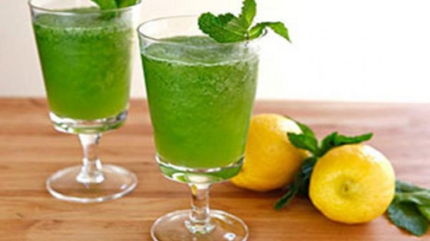 السعرات الحرارية في عصير الليمون بالنعناع بالسكر