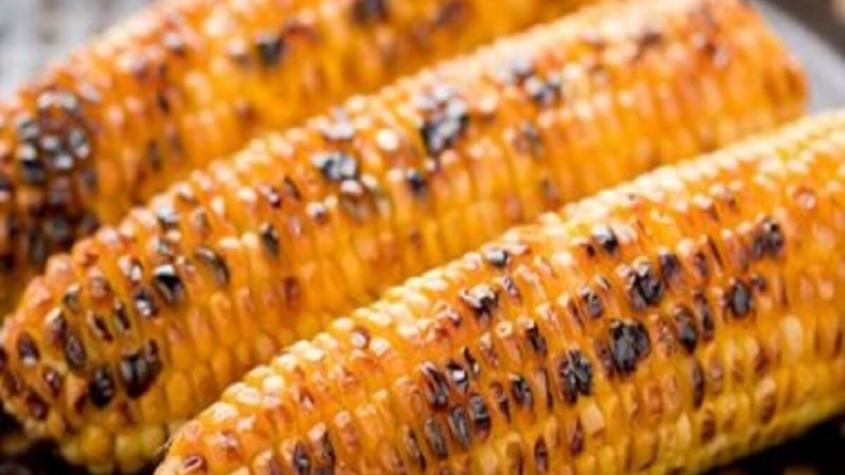 السعرات الحرارية في كوز الذرة المشوي