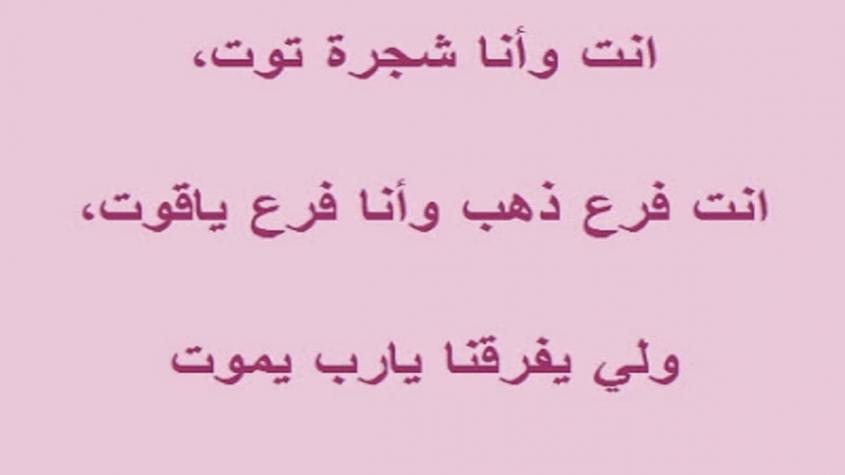 رسائل حب تونسية قصيرة
