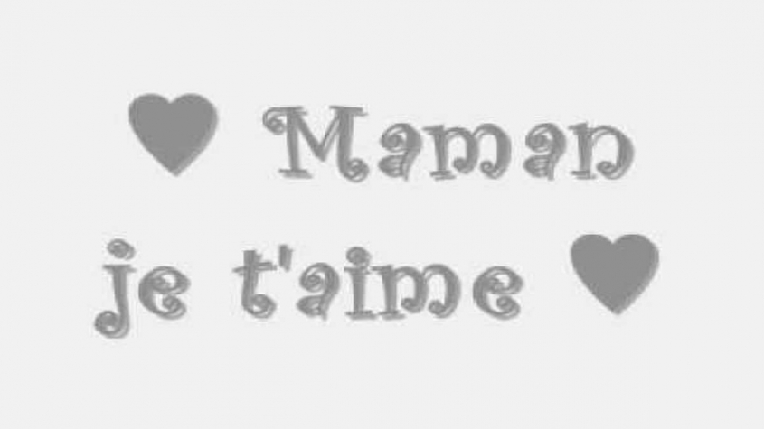 شعر بالفرنسية عن الام