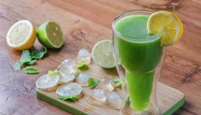 السعرات الحرارية في عصير الليمون بالنعناع