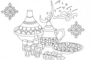 رسومات عن شهر رمضان