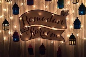 زخارف رمضان بخشب الأركت