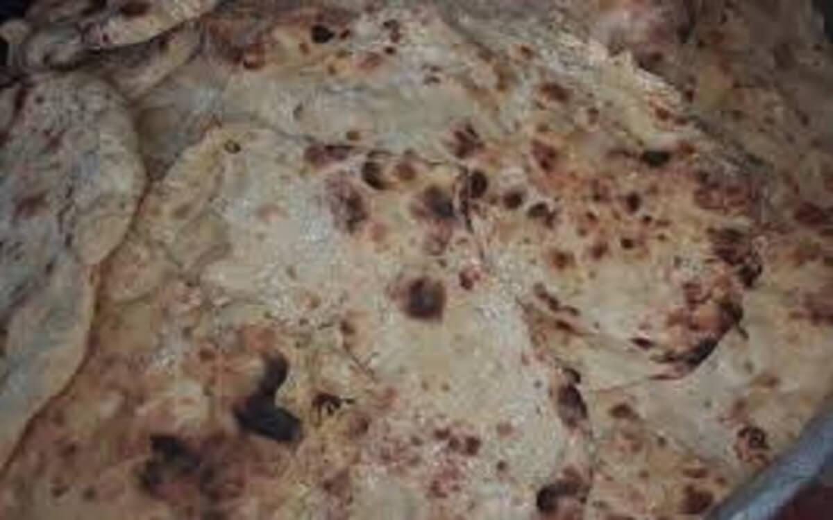 السعرات الحرارية في خبز الطابون