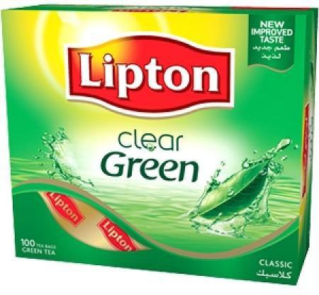 شاي ليبتون الأخضر