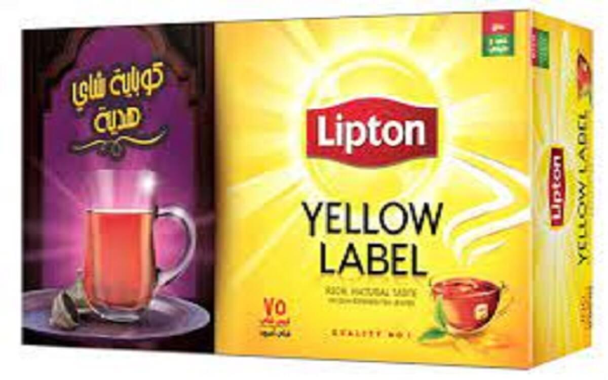 السعرات الحرارية في شاي ليبتون