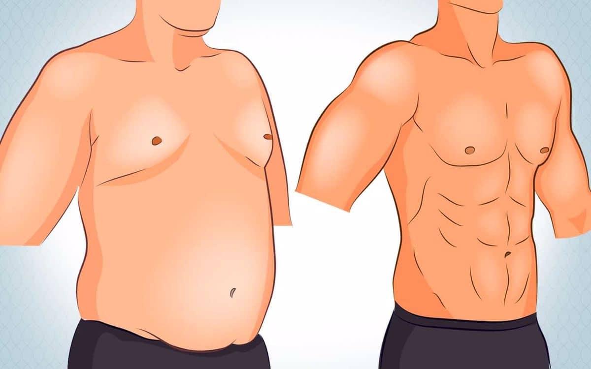 كيفية التخلص من ترهلات الثدي للرجال