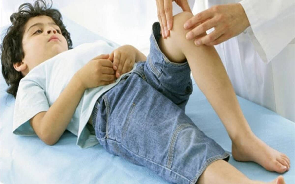 اسباب الام الركبة عند الاطفال
