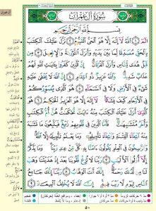 فوائد قراءة سورة ال عمران يوميا