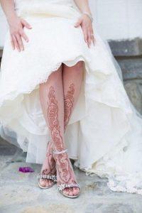 رسومات حنة على الجسم للعروسة
