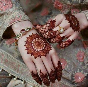 رسومات حنة للعروسة من النقوش الهندية